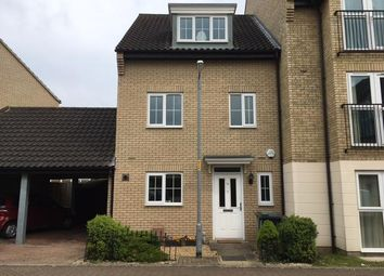 Thumbnail 4 bedroom semi-detached house to rent in Spindle Drive, Thetford