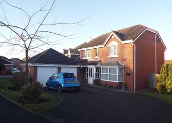 Thumbnail 4 bedroom detached house for sale in Greendale Drive, Radcliffe, Manchester