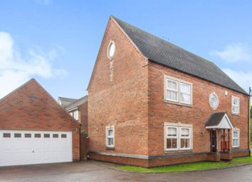 Thumbnail 5 bedroom detached house for sale in Stocking Leys, Burbage, Hinckley