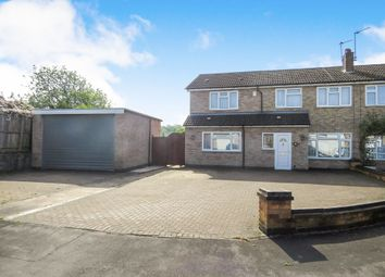 Thumbnail 6 bed semi-detached house for sale in Hyde Close, Oadby, Leicester