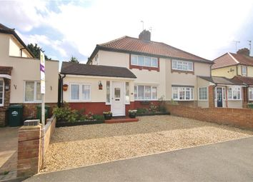 Thumbnail 3 bed semi-detached house for sale in Hazel Grove, Staines Upon Thames, Middlesex