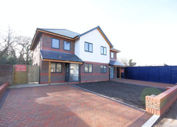 Thumbnail 3 bed semi-detached house for sale in St. Nicholas Avenue, Gosport