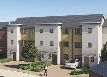 Thumbnail 3 bed town house for sale in The Darby At Springhead Park, Wingfield Bank, Northfleet, Gravesend
