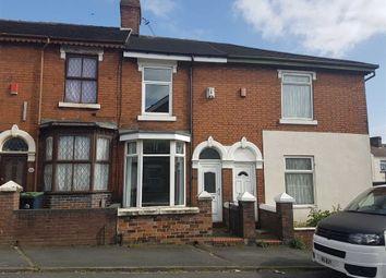 Thumbnail 2 bedroom terraced house for sale in Dartmouth Street, Burslem, Stoke-On-Trent