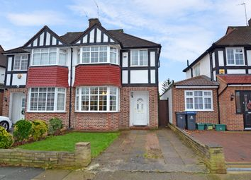 Thumbnail 3 bedroom semi-detached house to rent in Ancaster Crescent, New Malden, Surrey