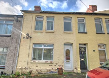 Thumbnail 3 bed terraced house for sale in Laura Street, Barry