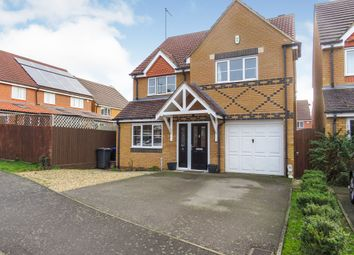 Thumbnail 4 bedroom detached house for sale in Villagers Close, Wootton, Northampton