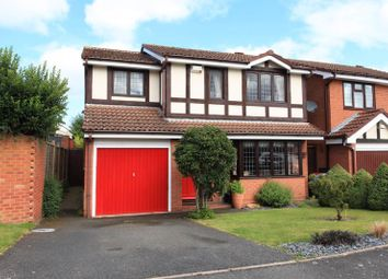 Thumbnail 4 bed detached house for sale in Kingfisher Way, Leegomery, Telford