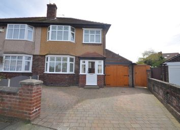Thumbnail 3 bedroom semi-detached house to rent in Saltburn Road, Wallasey