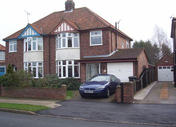 Thumbnail 3 bed semi-detached house to rent in Beechcroft Road, Ipswich