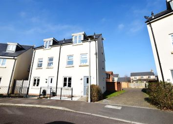 Thumbnail 4 bedroom town house for sale in Redpoll Drive, Portbury, Bristol