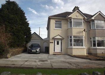 Thumbnail 3 bed semi-detached house for sale in Waunfawr, Caernarfon, Gwynedd