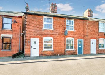 Thumbnail 2 bedroom end terrace house for sale in The Street, Bramford, Ipswich, Suffolk