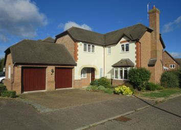Thumbnail 5 bed detached house for sale in Sheepcoat Close, Shenley Church End, Milton Keynes