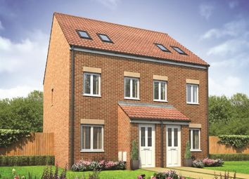"Thumbnail 3 bedroom terraced house for sale in ""The Sutton "" at Bellona Drive, Peterborough"
