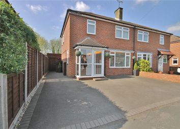 Thumbnail 3 bed semi-detached house for sale in Ayebridges Avenue, Egham, Surrey