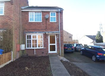 Thumbnail 3 bed end terrace house to rent in Maple Close, Forest Town, Mansfield, Nottinghamshire