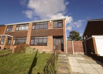 Thumbnail 3 bed semi-detached house for sale in Oulton Close, Prenton, Wirral