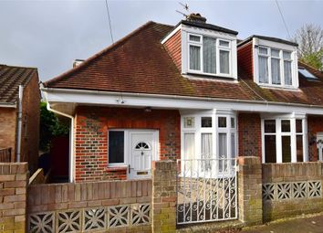 Thumbnail 3 bed semi-detached bungalow for sale in Hertford Road, Brighton, East Sussex