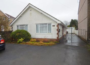 Thumbnail 3 bed detached bungalow for sale in Llangyfelach Road, Tirdeunaw, Swansea