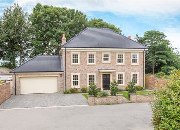 Thumbnail 4 bed detached house for sale in Hollymead Court, Selby