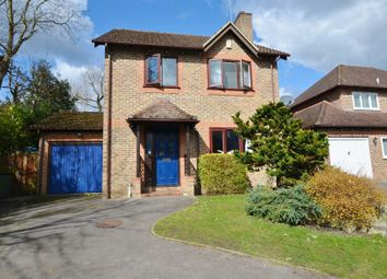 Thumbnail 4 bed detached house to rent in Knights Way, Camberley