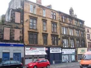 Thumbnail 2 bed flat to rent in Moss Street, Paisley
