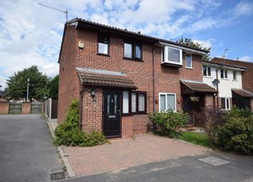 Thumbnail 2 bed end terrace house for sale in The Eyrie, Sinfin, Derby