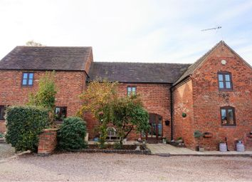 Thumbnail 4 bed barn conversion for sale in Netherstowe, Lichfield