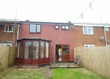Thumbnail 3 bed terraced house for sale in Hanbury Close, Cwmbran