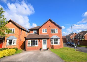 Thumbnail 4 bed detached house for sale in Tegid Drive, New Broughton, Wrexham