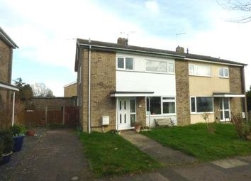 Thumbnail 3 bedroom semi-detached house for sale in Woolpit, Bury St. Edmunds, Suffolk
