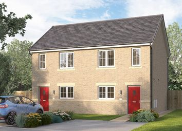 "Thumbnail 2 bed semi-detached house for sale in ""The Bambridge"" at Browney Lane, Browney, Durham"