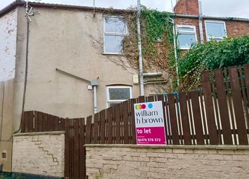 Thumbnail 1 bed flat to rent in Railway Terrace, Grantham