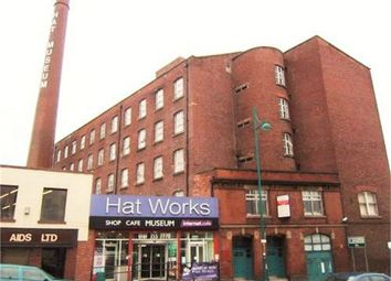 Thumbnail 1 bed flat for sale in Wellington Mill, Wellington Road South, Stockport, Cheshire