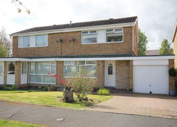 Thumbnail 3 bed semi-detached house for sale in Exeter Close, Great Lumley, Chester Le Street