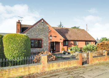 Thumbnail 3 bed detached bungalow for sale in The Close, North Walsham