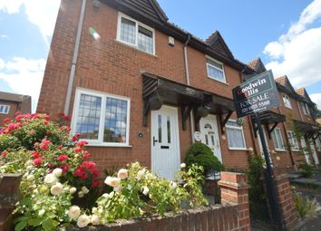 Thumbnail 2 bed end terrace house for sale in Nuthatch Gardens, Thamesmead, London