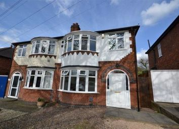 Thumbnail 3 bed semi-detached house to rent in Welford Road, Knighton, Leicester