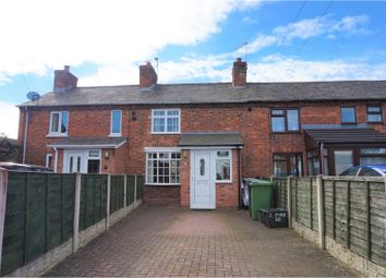 Thumbnail 2 bed terraced house for sale in Pyms Road, Wem, Nr Shrewsbury