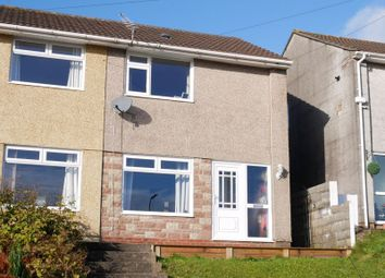 Thumbnail 2 bed semi-detached house for sale in Clos Llangefni, Beddau, Pontypridd