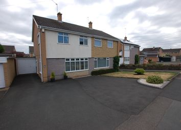 Thumbnail 3 bed semi-detached house for sale in Somerset Drive, Wollaston