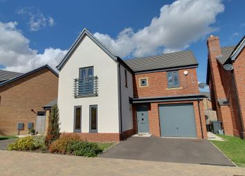 Thumbnail 4 bed detached house to rent in Sorrel Close, Hampton Vale, Peterborough