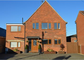 Thumbnail 4 bed detached house for sale in Station Road, Castle Donington