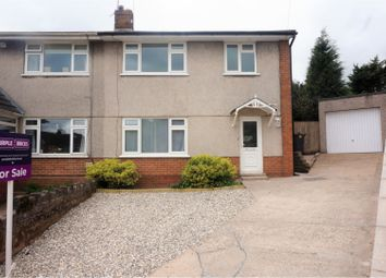 Thumbnail 3 bed semi-detached house for sale in Bryn Adar, Pantmawr