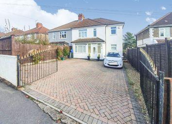 Thumbnail 4 bed semi-detached house for sale in Grange Road, Bishopsworth, Bristol