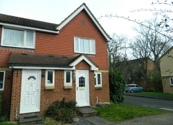Thumbnail 2 bedroom end terrace house to rent in Great Oaks Chase, Chineham