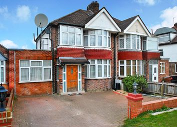 Thumbnail 4 bed semi-detached house to rent in Twyford Abbey Road, London