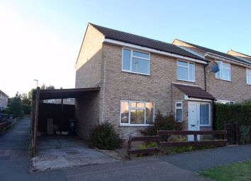 Thumbnail 3 bedroom end terrace house to rent in Thongsley, Huntingdon