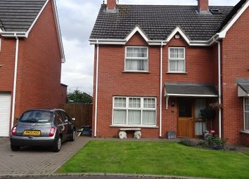 Thumbnail 3 bedroom semi-detached house to rent in Chestnut Hill, Lisburn